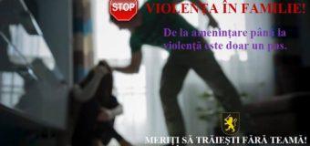 Poliția Republicii Moldova, despre violența în familie