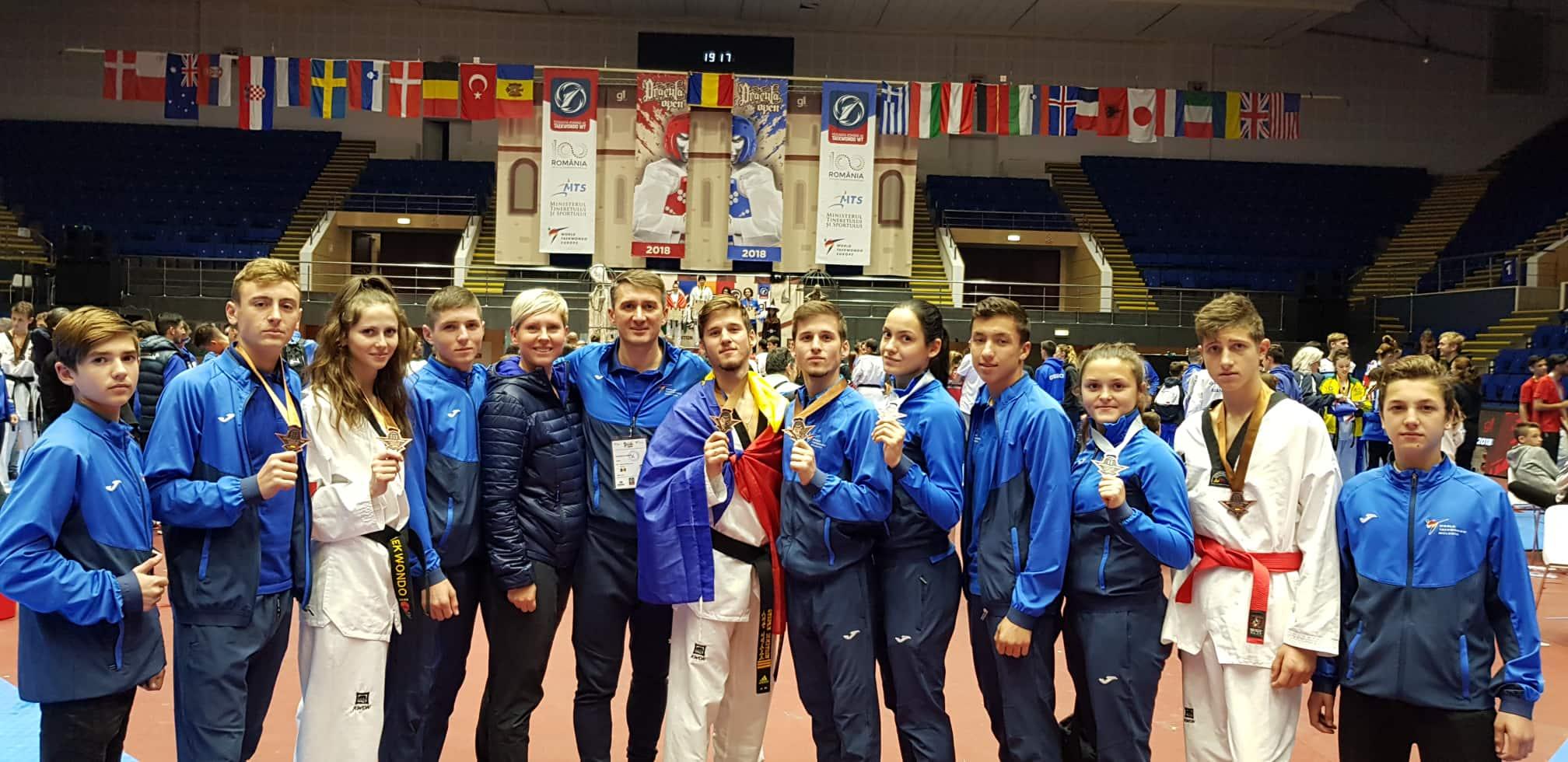 Turneul internațional la taekwondo. R. Moldova a cucerit 7 medalii!